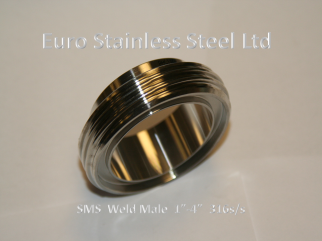 "SMS Weld Male 1""-4"""